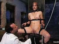 BDSM actress Renee Broadway talking about how it is to be punished with enema.