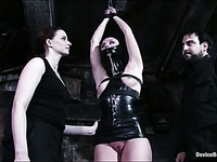Claire Adams punishes every inch of Sarah Jane Ceylon's absolutely helpless body