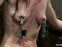 Isis Love and the master punish blonde Katie Summers in front of helpless Seda