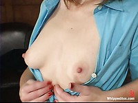 Obedient Paris Kennedy licks dominating Isabella Soprano and gets fucked doggy style on a desk