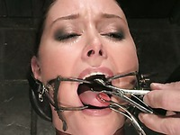 Big titted slave mom Christina Carter gets tortured and punished with water