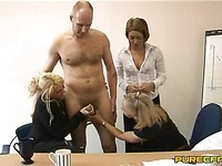 Man strips naked in front of Renee Richards and other ladies at the office