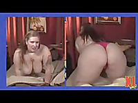 Plump Miss Isabelle takes off her lingerie and exposes her giant tits and fat ass