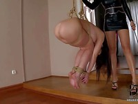 Bondage action with horny Antonya is what you need to see to believe it.
