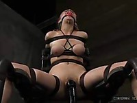 Sarah Jane Ceylon and Penny Pax are stunning bizarre slaves who love to tease us.