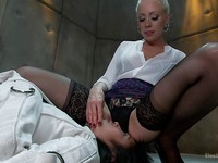 Mia Li gets a kinky and hardcore stimulating from kinky and experienced fetish gal  Lorelei Lee.