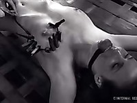 There is nothing that makes Casey Calvert hornier than some bondage devices.
