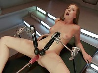 After slowly and seductively taking her clothes off fetish lover Scarlett Fay drilled and vibrated.