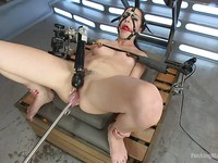 Marley Blaze spreading her legs revealing her fetish loving cunt then uses toys and vibrators.